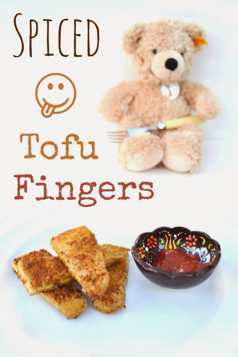 Spiced Tofu Fingers - Tinned Tomatoes
