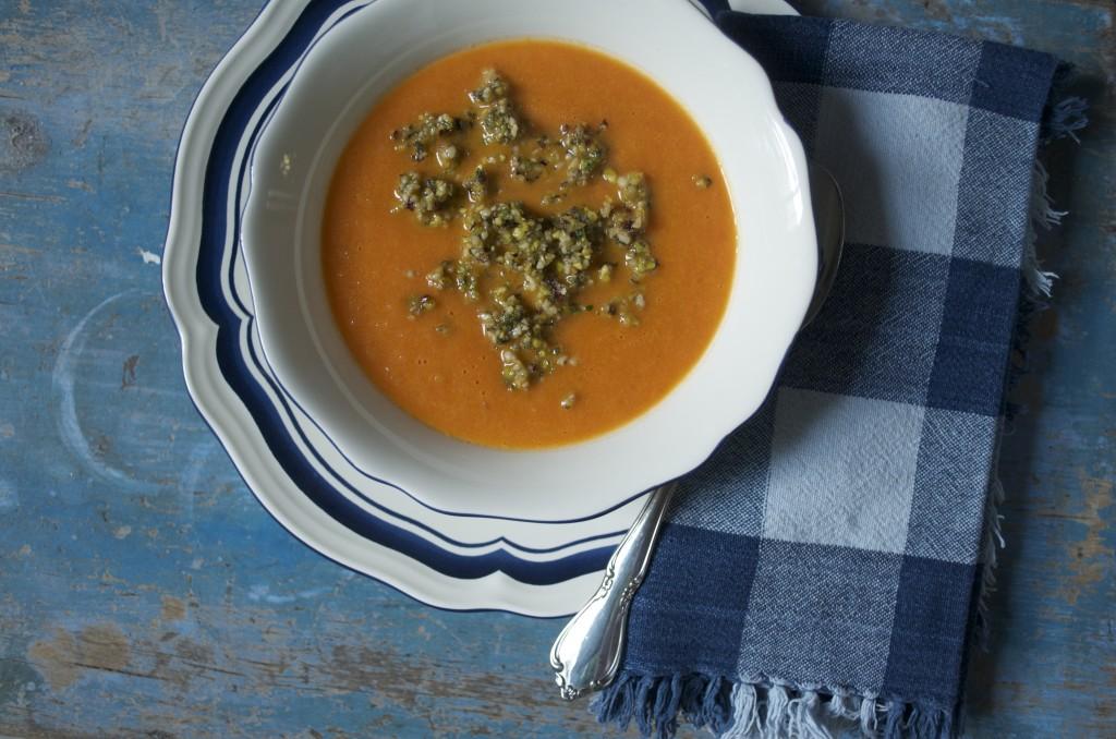 Zuppa estiva di pomodori - Cheap and Chop