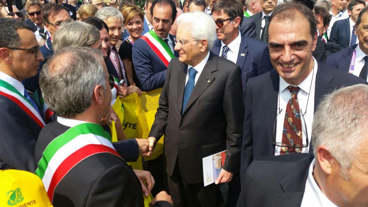 Mattarella in visita a Cascina Triulza ⋆ La Nuova Ecologia
