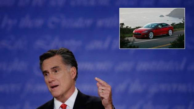 Per Romney l'auto elettrica è