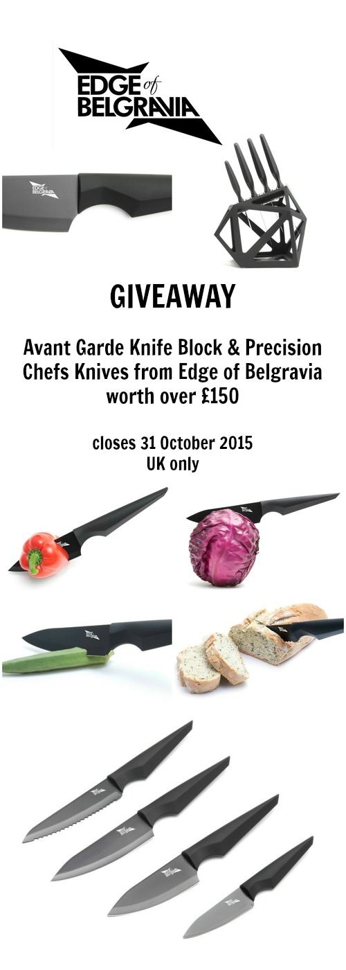 Giveaway - Avant Garde Knife Block and Precision Chefs Knives worth over £150 - Tinned Tomatoes