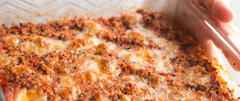 Quinoa pomodoro e mozzarella al forno - Cheap and Chop