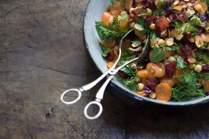 Moroccan Carrot and Chickpea Salad Recipe - 101 Cookbooks