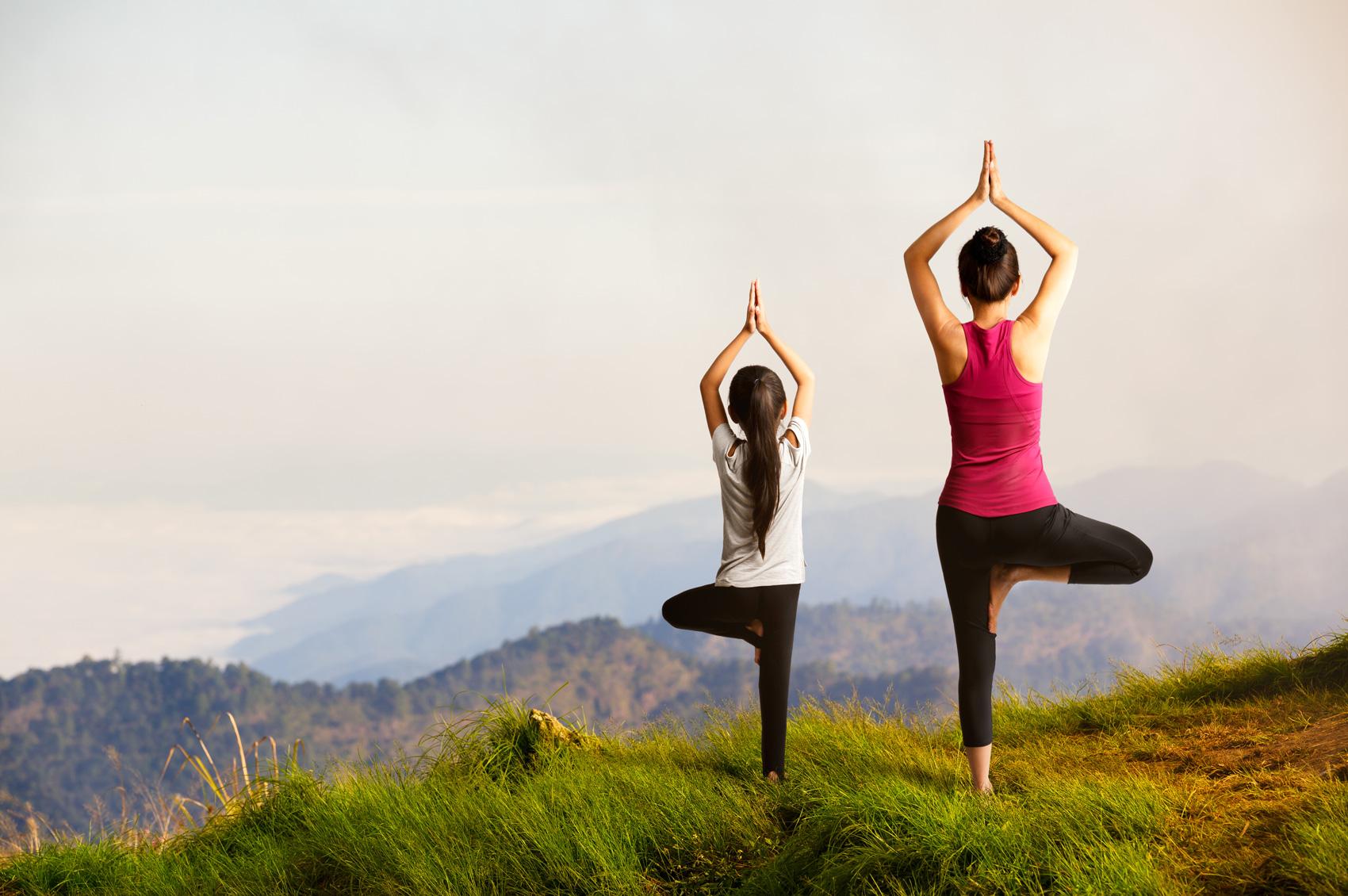 Lo yoga per bambini: un importante strumento crescita - Fatti di Bio
