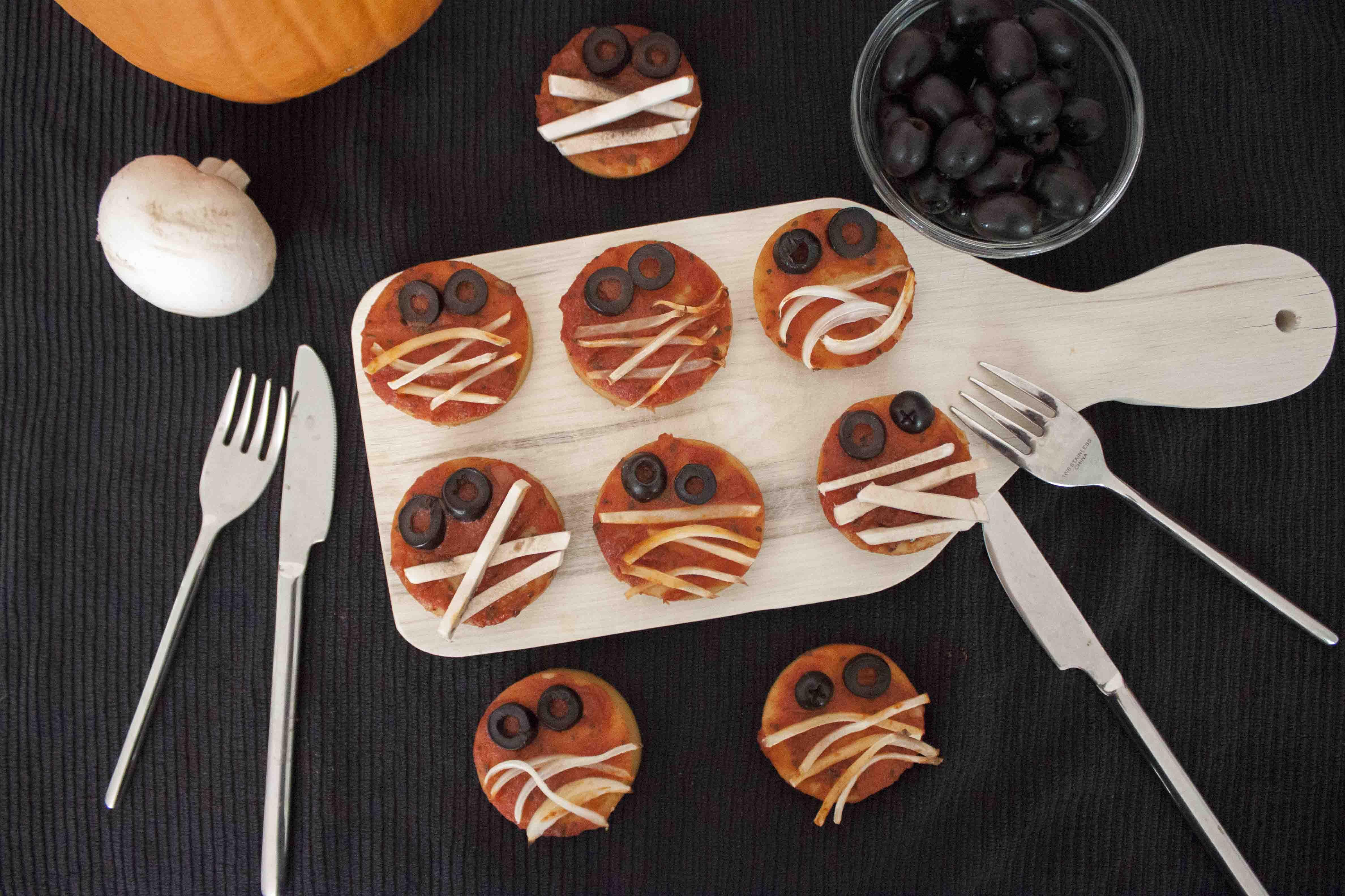 Petits monstres d'Halloween, recette - Vegan Pratique