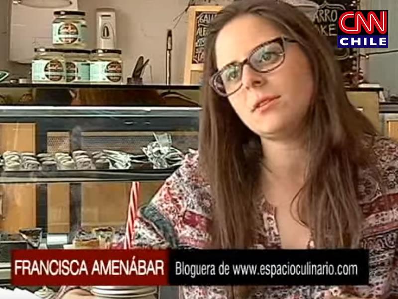 Prensa: Nota en CNN Chile - Espacio Culinario