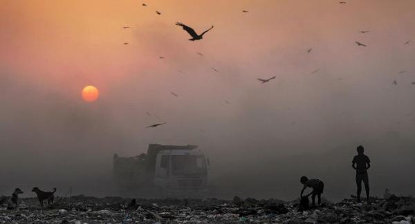 La contaminación en India acorta la vida de 660 millones de personas