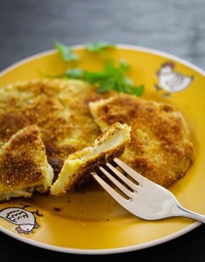 Sellerie-Haselnuss-Schnitzel | minzgrün