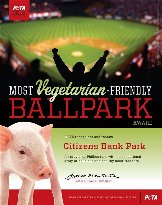 Los 10 estadios de béisbol más amigables con el vegetarianismo para 2013   Blog   PETA Latino