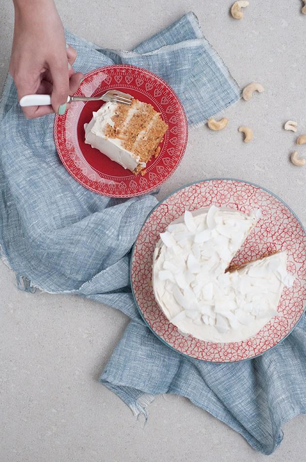 Torta Crudivegana de Zanahorias o Raw Carrot Cake (Paso a Paso) - Espacio Culinario