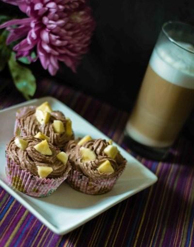 Bananasplit-Cupcakes | minzgrün