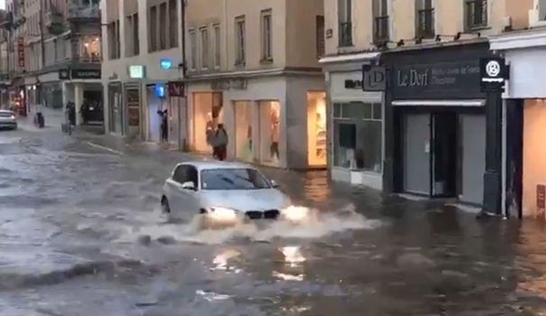 EN IMAGES. Grêle, inondations, tornade : d'importants orages ont traversé la France - L'Express