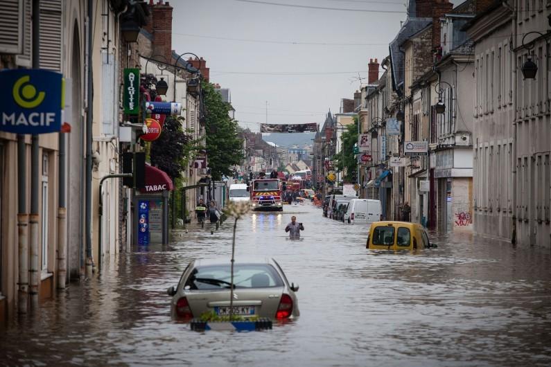 Inondations : 9 millions d'emplois exposés aux débordements des cours d'eau en France