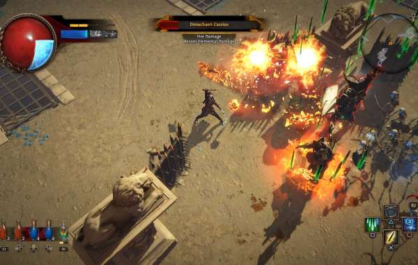 The trendy amplification for the free-to-play Path of Exile
